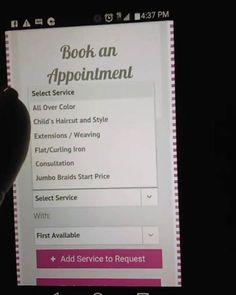 Booking an appt with me just became easier. Click on the link, book your appt then wait on my confirmation.   http://ladyweave.mysalononline.com/Booking/ #http://www.jennisonbeautysupply.com/  ,#hairinspo #longhair #hairextensions #clipinhairextensions #humanhair #hairideas #hairstyles #extensions #prettyhair  #clipinhairextensions #hairextensions #longhairgoals #hairextensionsspecialist #queenbhairextensions  virgin human hair wigs/hair extensions/lace closure/clip in hair/skin weft and…