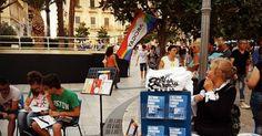 Taranto - Come ogni sabato, Arcigay in piazza contro ogni forma di discriminazione