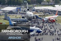 To attend the famous Farnborough Airshow, one of the biggest aviation events on the calendar!