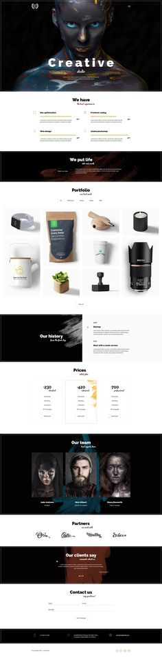 Creative Web Designs