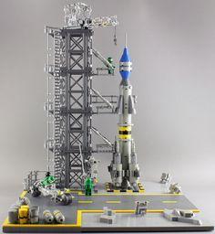 Classic Space Rocket Ramp