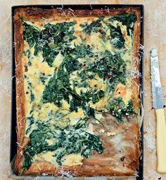Bill Granger's Spinach and mascarpone tart recipe  - Better Homes and Gardens - Yahoo!7
