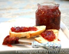 Fresh Fig Jam: Recipe - Finding Our Way Now