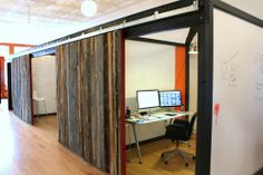 Jason's Office in Lander, Wyoming #offices #startup #techspace