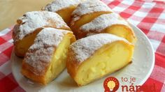 Meni bolja i od krempite! Jako jednostavna, mirisljava i fina! Donut Recipes, Cake Recipes, Dessert Recipes, Cooking Recipes, Austria Food, Croatian Cuisine, Macedonian Food, Delicious Desserts, Yummy Food