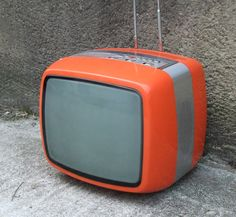 70's television...the smaller the better.