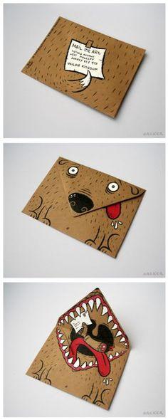 Briefumschlag Hund                                                                                                                                                     Mehr