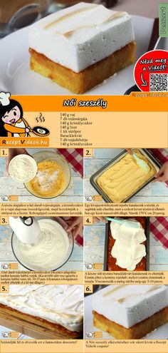 No Bake Cake, Vanilla Cake, Recipies, Kitchen Craft, Sweets, Healthy Recipes, Baking, Food Ideas, Cakes