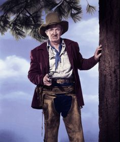 THE FAR COUNTRY (1954) - Walter Brennan - Directed by Anthony Mann - Universal-International.