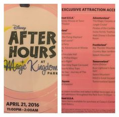 Magic Kingdom - Disney After Hours Event | Is it worth the money?