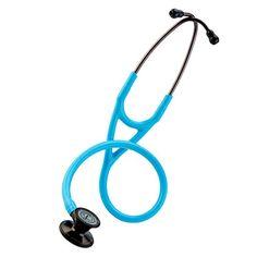 "Holy Jeezussssss. Electric blue & black? :D  Littmann Cardiology III 27"" Stethoscope | allheart.com"