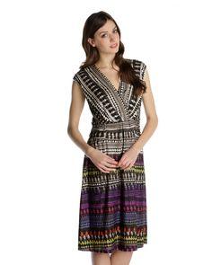 AZTEC DRESS - Dresses+Pants+Skirts - NIC+ZOE