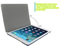 2017 Best Cheap Black Leather Breathable iPad Pro Cases Or Covers IPPC01_12