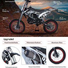bms pro x 125 dirt bike