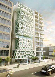 AJAP tower by Hughes Umban Howar Architects