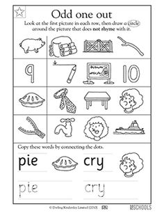 Blank Graph Worksheets Word Kindergarten Preschool Reading Worksheets Which Animal Is  Worksheets On Synonyms And Antonyms Pdf with Series Circuit Worksheets Pdf Kindergarten Preschool Reading Writing Worksheets Rhyming Words Pie And  Cry Two Dimensional Figures Worksheet