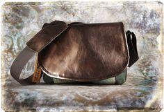 Leather Camera Bag  - Bronze Patent Leather Tapestry Medium DSLR - In Stock. $140.00, via Etsy.