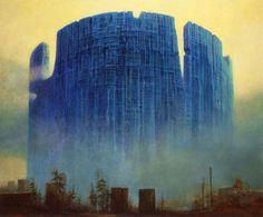 DmochowskiGallery.net - galeria - Sala 11. Obrazy. Lata 1984-1989 -