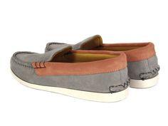 Maison Kitsune for Quoddy – One Hot Moccasin  http://www.facebook.com/DressShoesandSneaker  http://dressshoesandsneakers.tumblr.com/