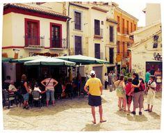 Granada (Spagna).  Bar 'Las Cuevas'.