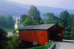 Covered Bridges (this one in Arlington)