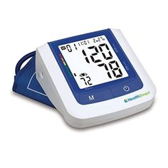 HealthSmart Talking Digital Arm Blood Pressure Monitor for 2Bilingual -- Click image for more details.