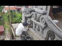 House Wall Design, Front Wall Design, House Outside Design, Fence Gate Design, Cement Design, Mandir Design, Modern House Facades, Door Design Interior, Minimalist House Design