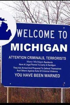Way to go, Michigan!