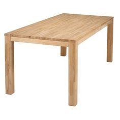 Table à manger rectangulaire en chêne -GM