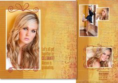 Design examples of press cards, graduation announcements, album pages, image galleries, composites, holiday cards, business cards, image enhancement using photoDUDS graphic design elements