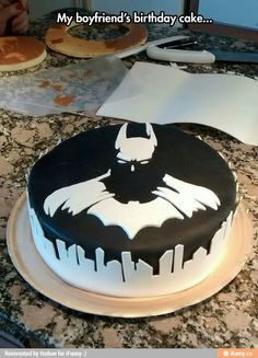 Batcake... awesome. Just want the same for any event in my life :)