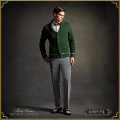 """Brooks Brothers line inspired by Baz Luhrmann's movie """"The Great Gatsby"""""""