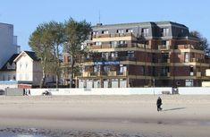 Die Klinik Westfalen auf Föhr von außen vom Strand, © Klinik Westfalen