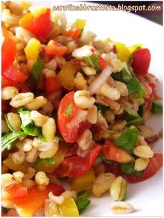 Cereali con verdure e salsa di soia Oriental, Orzo, Risotto, Grains, Ethnic Recipes, Easy, Genere, Estate, 3