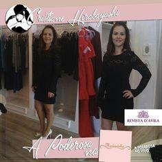 O dia começou animado para a Poderosa Cristiane Hirabayashi ela está na Mariquinha Store provando looks incríveis!