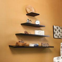 Wildon Home ® Gayle Floating Shelf in Black
