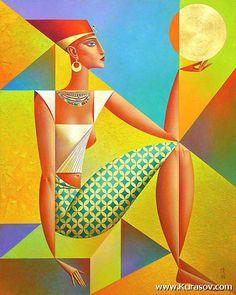 Artist Georgy Kurasov, the painter, the sculptor Cubist Artists, Cubism Art, Arte Pop, Fine Art, Beautiful Paintings, Modern Art, Art Drawings, Abstract Art, Art Gallery