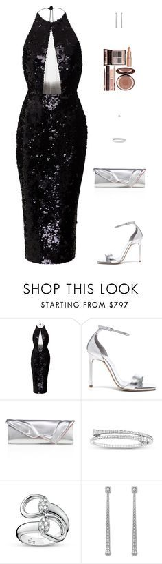 """Untitled #5310"" by mdmsb on Polyvore featuring Alex Perry, Yves Saint Laurent, Christian Louboutin, Gucci and Charlotte Tilbury"