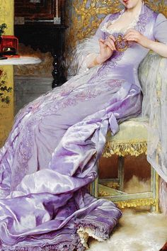 warpaintpeggy: INCREDIBLE DRESSES IN ART (17/∞)The New Bracelet by Frans Verhas