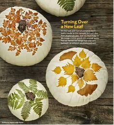 DIY Decorated Pumpkins