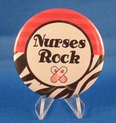 Nurses Rock  Pocket Mirror by CreativeSanity on Etsy, $3.50