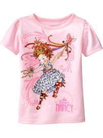 Lilah... Not big on licensed apparel, but we love Fancy Nancy