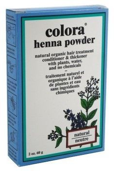 Colora Henna Powder Hair Color Natural 2oz (2 Pack) *** Find out more about the great product at the image link. #hairfashion