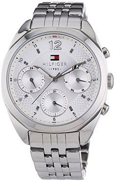 Tommy Hilfiger Watches Damen-Armbanduhr MIA Analog Quarz Edelstahl 1781485