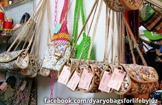 Sling Bags - Dyaryo Bags for Life - Eco-Friendly Handbags, Totes, Purses and Shopping Bags by Luzviminda Madriñan Newspaper Bags, Sling Bags, Shopping Bags, Eco Friendly, Totes, Handbags, Purses, Life, Molle Pouches