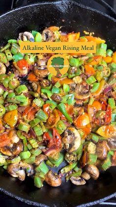 Dr Sebi Recipes, Okra Recipes, Vegan Recipes Videos, Vegan Dinner Recipes, Vegan Breakfast Recipes, Raw Food Recipes, Vegetarian Recipes, Alkaline Diet Recipes, Alkaline Diet Foods