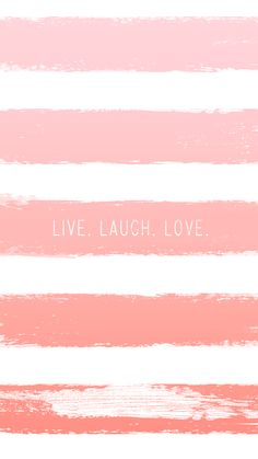 Live | Laugh | Love * free iPhone wallpaper