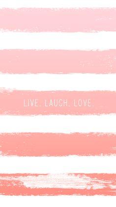 Live | Laugh | Love * free iPhone wallpaper