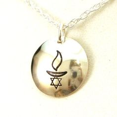 Star of David UU Chalice Necklace - Crow Steals Fire