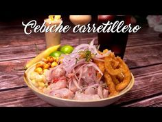 Cebiche Carretillero - A Comer | Recetas Comida Peruana